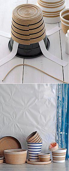 Делаем сами: Обматывание веревкой (бечевкой)
