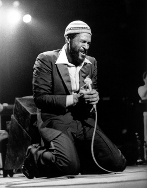 What's goin' on, Marvin Gaye?