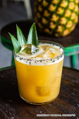 Cubano (tobacco infused tequila, mezcal, vanilla and lemon with grilled pineapple and a salt rim) from Brickhouse. 7 Best Cocktails for Men in Hong Kong - LifestyleAsia.com