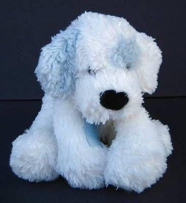 white blue puppy dog super soft lovey jerry elsner plush 10 stuffed animal stuffed animals. Black Bedroom Furniture Sets. Home Design Ideas