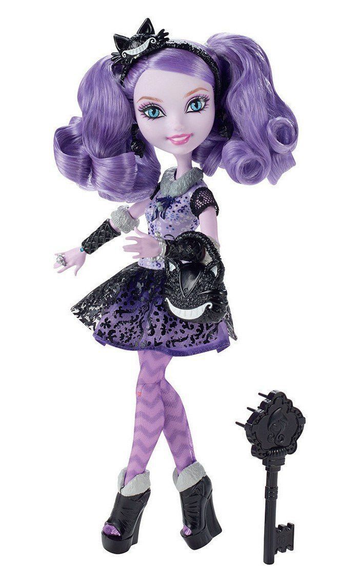 Ever After High Rebel Kitty Cheshire Doll | Ever after ...