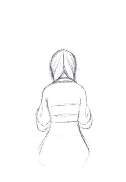 Mark Henn's pencil animation for Mulan (1998).
