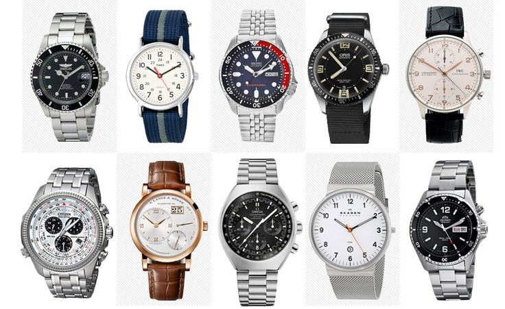 An extremely helpful primer on the best watch brands by price by Primer Magazine.