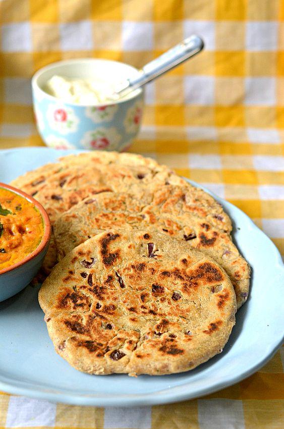 Sindhi koki recipe – The Veggie Indian