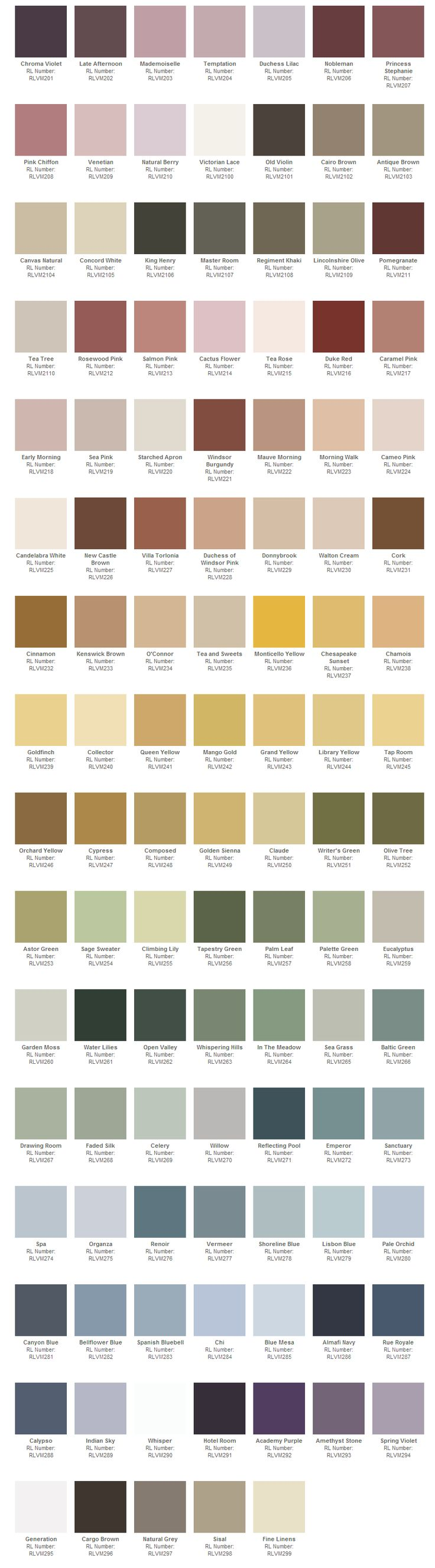 ralph lauren paint colors chart behr paints behr colors. Black Bedroom Furniture Sets. Home Design Ideas