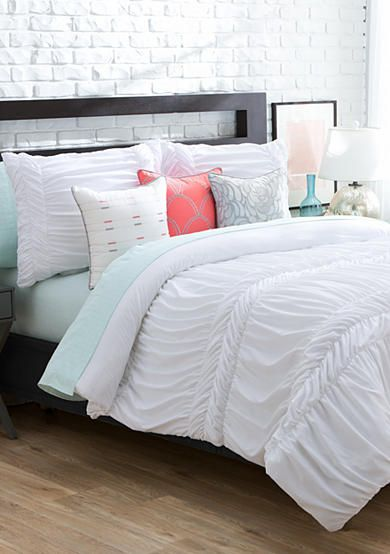Love The New Directions Ava Bedding Collection The White Textured