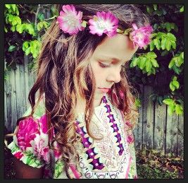 Gypsy Dress Pink Rose