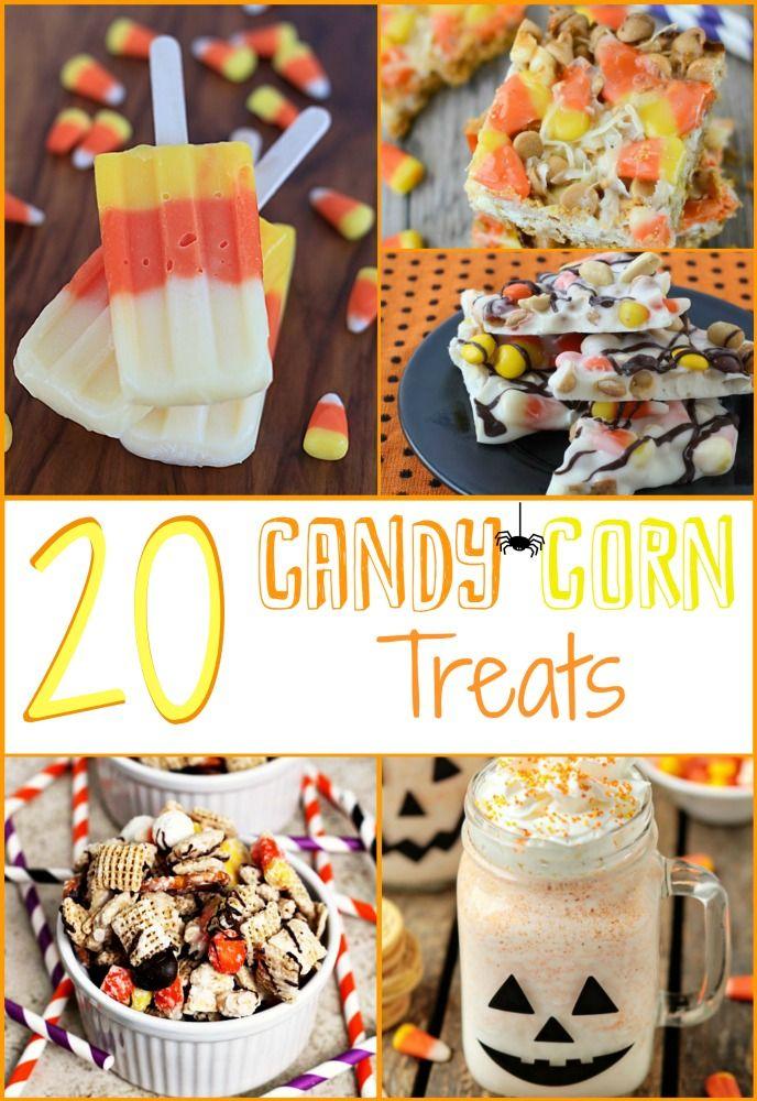 20 candy corn treat ideas for Halloween