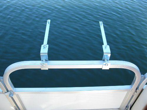Grill Mount Bracket Set For Pontoon Boat Rail 171 Zcamping