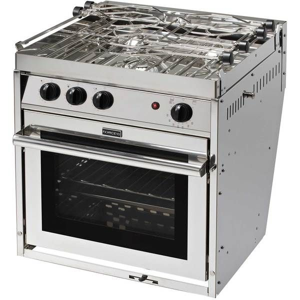 Force 10 Three Burner Gourmet Galley Gimbaled Propane Ranges