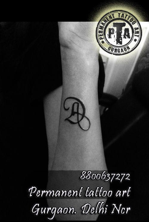 Initial Tattoo A And D Design Idea Name