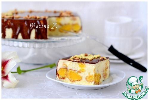 Эклерный торт-десерт. Необыкновенно вкусный! Заварные пирожные просто  тают во рту. Рекомендую вам этот восхитительный десерт.. Обсуждение на LiveInternet - Российский Сервис Онлайн-Дневников