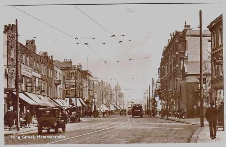 1930's HAMMERSMITH King Street LONDON Photo
