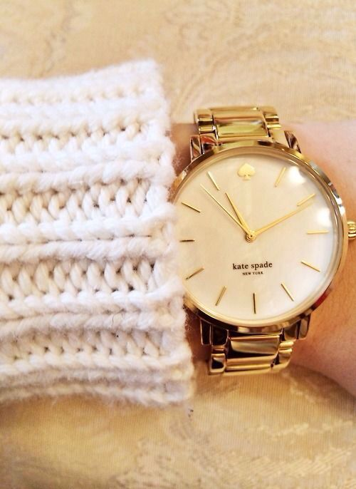 Kate spade gold watch http://www.thesterlingsilver.com/product/cluse-la-boheme-mesh-silverwhite-watch-cl18105/