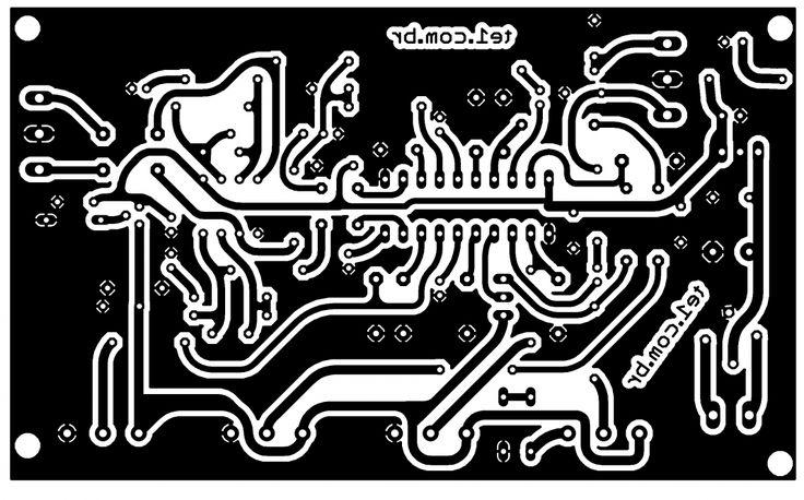 pre amplificador controle tons lm1036 ci placa 700x437 Lm1036 Circuito de Controle de tons estéreo Graves, Agudos, Volume circuito audio circuito circuito amplificador
