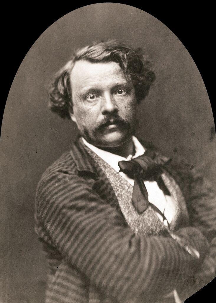 Self-portrait. By Nadar (Gaspard-Félix Tournachon), 1856-58, J.P. Getty Museum