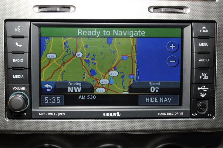 2011-2017 Jeep Patriot GPS Garmin Navigation RHB 430N Radio