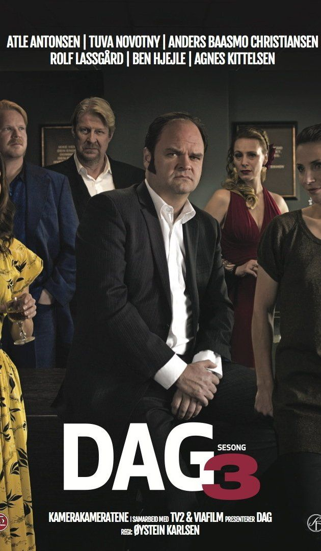 Dag (2010– ) Dag is a Norwegian comedy series about a marriage counselor who think people should live in solitude. He hates spending time with other people, except from his friend Benedict who is struggling to be faithful in his own relationship. Dags life changes when his well-meaning sister, Marianne, forces him to go on his nineteenth blind-date with her old childhood friend, Eva.  With Atle Antonsen, Tuva Novotny, Anders Baasmo Christiansen, Agnes Kittelsen.