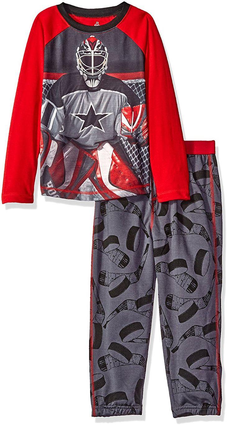 Amazon.com: Petit Lem Big Boys' Goalie Pajama, Hockey, 10: Clothing