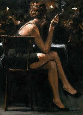Valerie At Las Brujas by Fabian Perez, Art Print