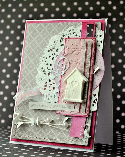 Card by Kasza / Ladies' night paper collection by P13