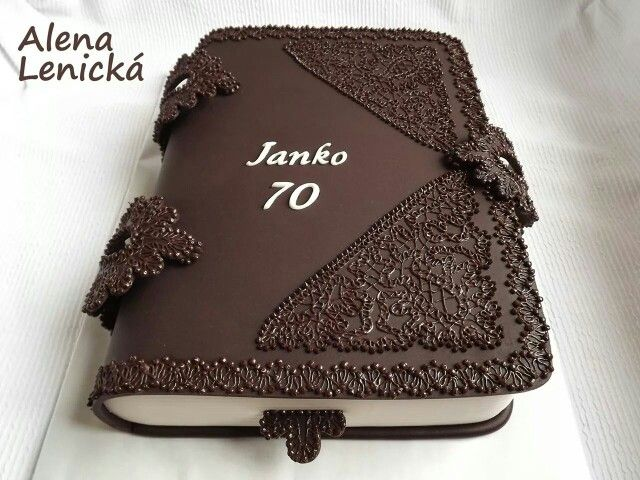 Dort marcipánový * narozeninový - kniha, hezké ♥