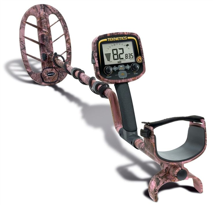 "TEKNETICS G2+ PINK CAMO METAL DETECTOR Factory Included Accessories: - 11"" DD Elliptical Waterproof Search Coil Teknetics G2+ is now also available in camouflage! With ground balance all the way to sa"