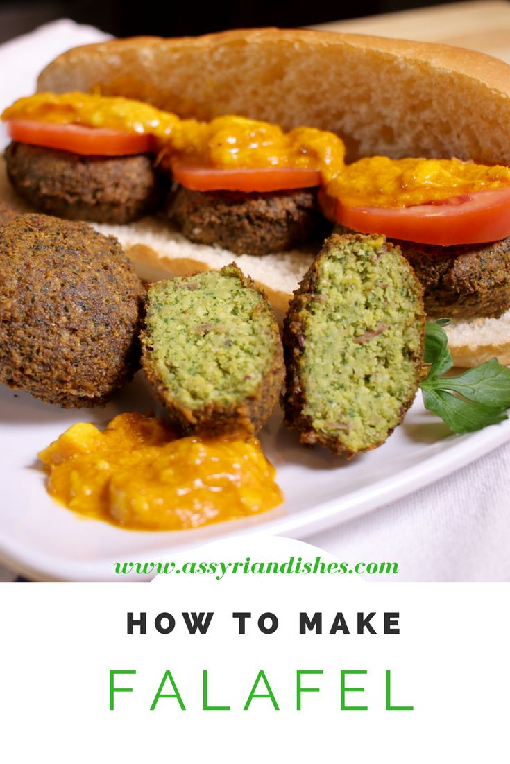 Learn How to make Falafel with Assyrian Dishes!