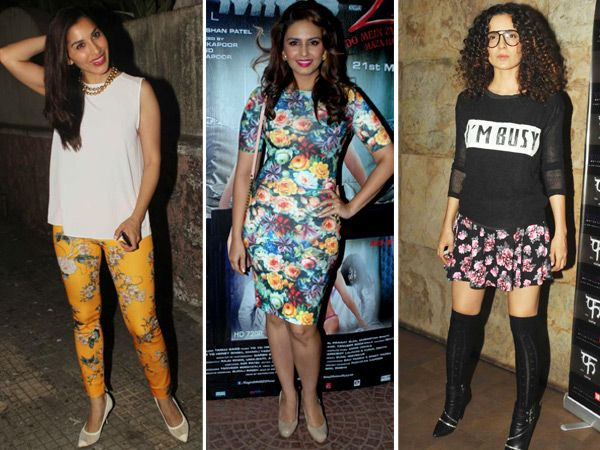 Floral prints seem to be the true winner this summer! And we're crushing on these beautiful, dreamy motifs for a reason. Yes, floral prints get a twist this season with not just girly dresses, but also pants and skirts! Take some inspiration from these Bollywood divas to make the most of floral prints this summer.Image courtesy: IANS