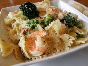 Taste Every Season: Shrimp, Broccoli, and Sun-Dried Tomatoes with Pasta