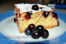 Smaczny Dzien: Ciasto z owocami