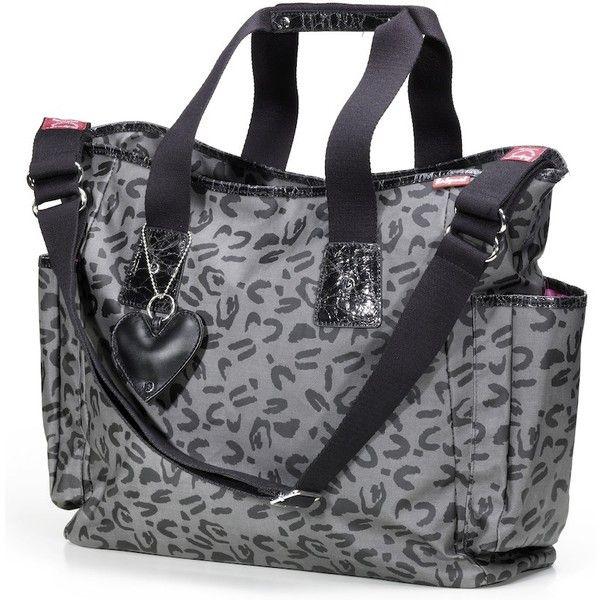 Babymel Leopard Tote Diaper Bag | Designer Maternity ($98) via Polyvore