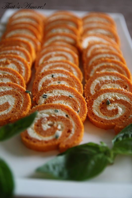 Roulé aux tomates et fines herbes - Rotolo al pomodoro e formaggio