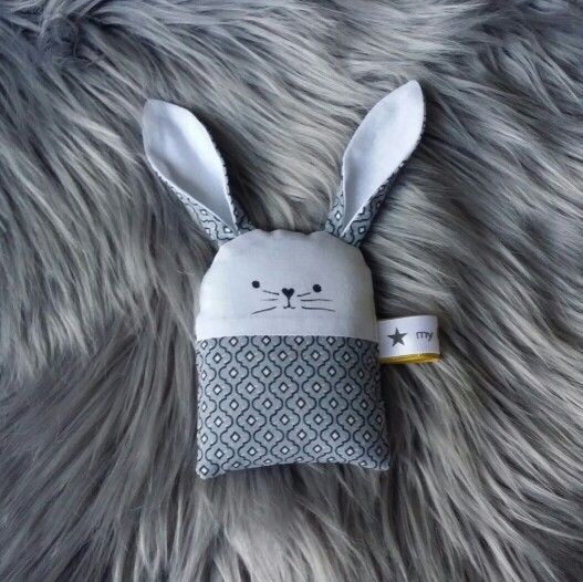 Bunny rattle by m6 little Archie