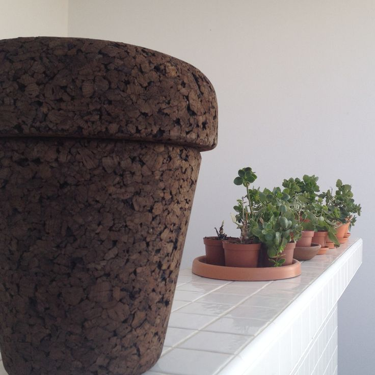 "#POT - ""Plant on Top"", a 100% #natural #stool. Find it out: www.varasverdes.com #varasverdes #portuguesedesign #naturaldesign #sustainabledesign #portuguesedesign #plantontop #cork #eco #ecodesign #ecorkhotel"