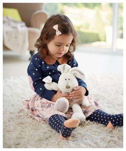 MAMAS&PAPAS Przytulanka Pip Bunny Midi, kolekcja Once Upon a Time - Urocza zabawka dla Maluszka