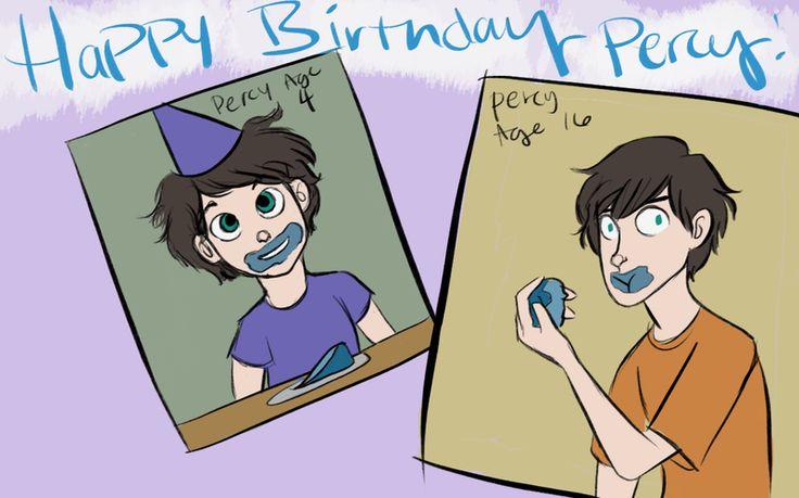 Happy Birthday Percy by wondernez on DeviantArt