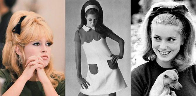 Модные прически 60-ых