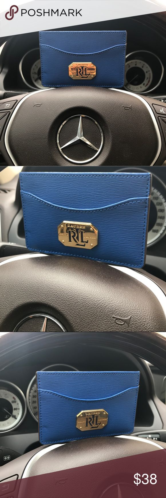 POLO RALPH LAUREN BUSINESS CREDIT CARD CASE WALLET 100% authentic and brand new. $38 original price. Macy's tag is attached. ♡Unlike other sellers who would raise the price and ask you to make an offer, I set the price below the original price for a fast and easy Buy It Now transaction. That's your biggest discount! If you want to save a bit more, simply check out my other listings for a bundled sale and save on combined shipping. Check out my other…