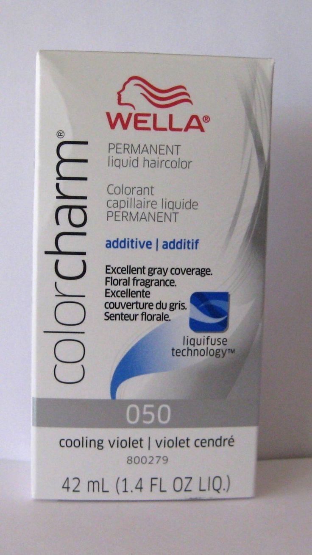 WELLA Color Charm Liquid Permanent Hair Color Cooling Violet 050 1.4oz/42ml: Amazon.co.uk: Beauty