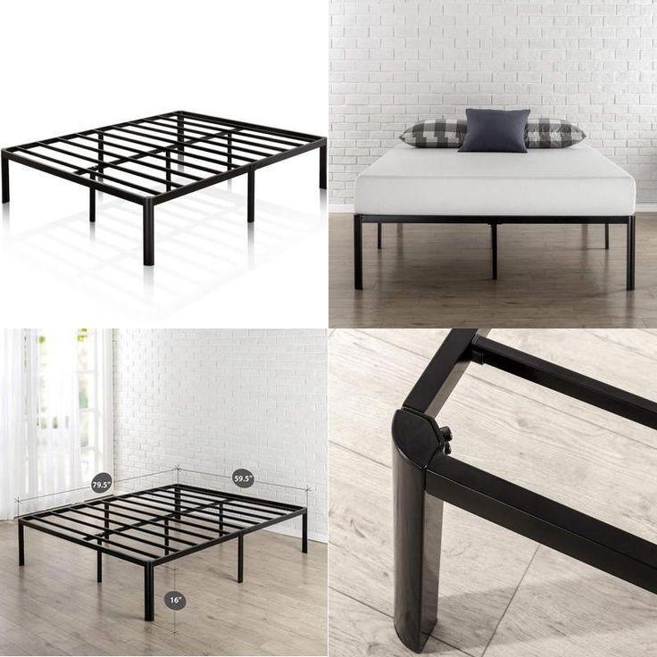Best Details About 4 Size Wood Slats Metal Bed Frame Platform 400 x 300