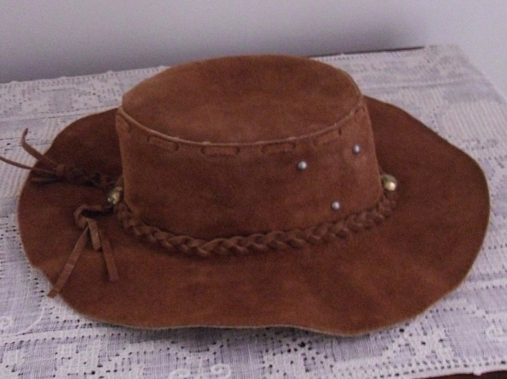vintage leather hippie hat - Google Search