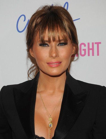 """Melania Trump (Donald Trump's wife) - """"Celebrity Apprentice"""" Live Finale"""