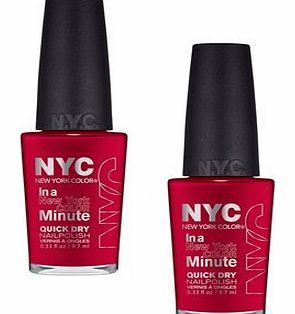 NYC In A New York Minute Nail Polish 228 Chelsea NYC In A New York Minute Nail Polish. Nail Colour. NYC Minute Nail Polish At last, a manicure that moves at the speed of Manhattan. NYCs In a New York Color Minute nail polish is slick, glossy polish  http://www.comparestoreprices.co.uk/nail-products/nyc-in-a-new-york-minute-nail-polish-228-chelsea.asp