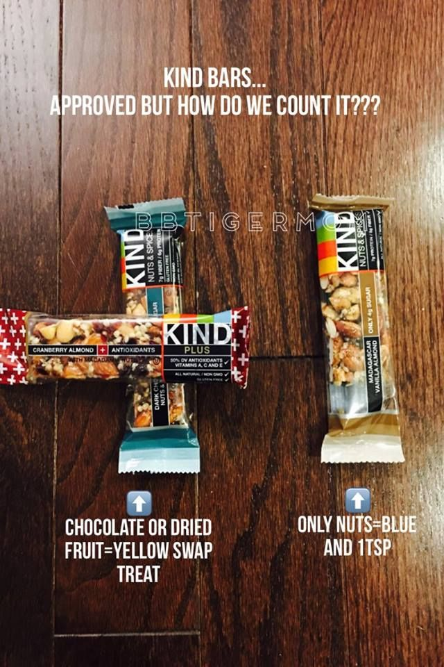 How to count Kind bars on the 21 Day Fix...    #bbtigermom #21dayfix #21dayfixextreme