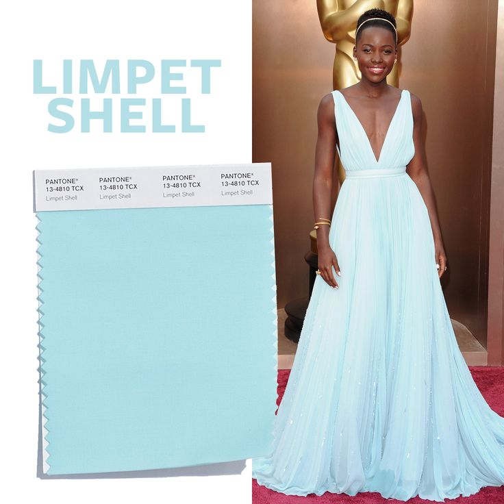 See the Top 10 Colors for Spring 2016 - Limpet Shell  - from InStyle.com