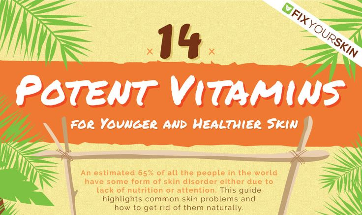 14 Potent Vitamins for Younger and Healthier Skin