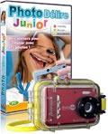 Pack photo enfant : appareil photo numérique étanche +  Photo Délire