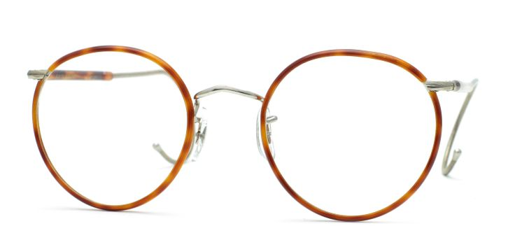 Savile Row 18Kt Beaufort - Half Covered Cable Temples ...