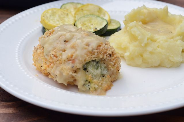 Creamy Broccoli Cheese Stuffed Chicken | Recipe